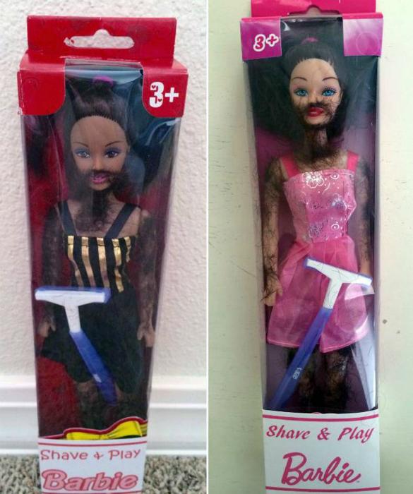 Специфическая кукла.