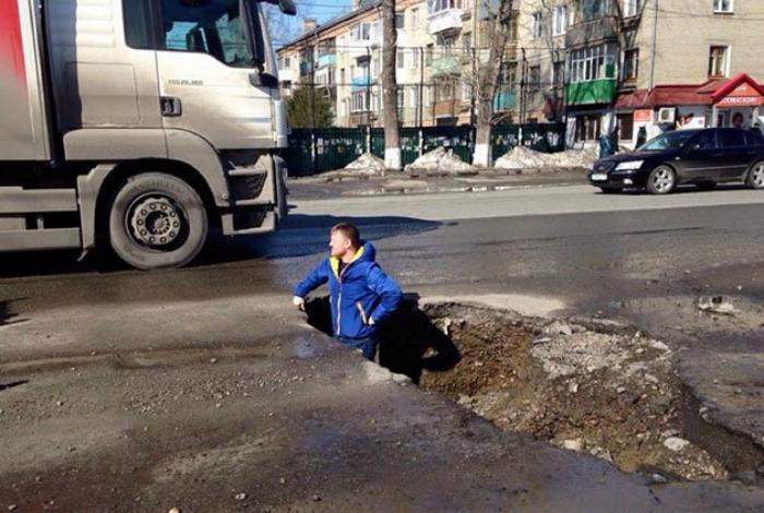 Идеальные дороги Томска.