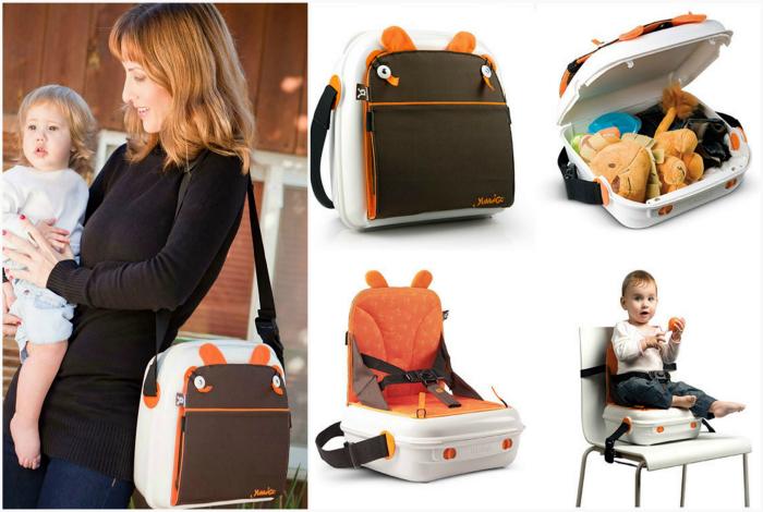Yummigo Booster - сумка-сиденье для малыша.