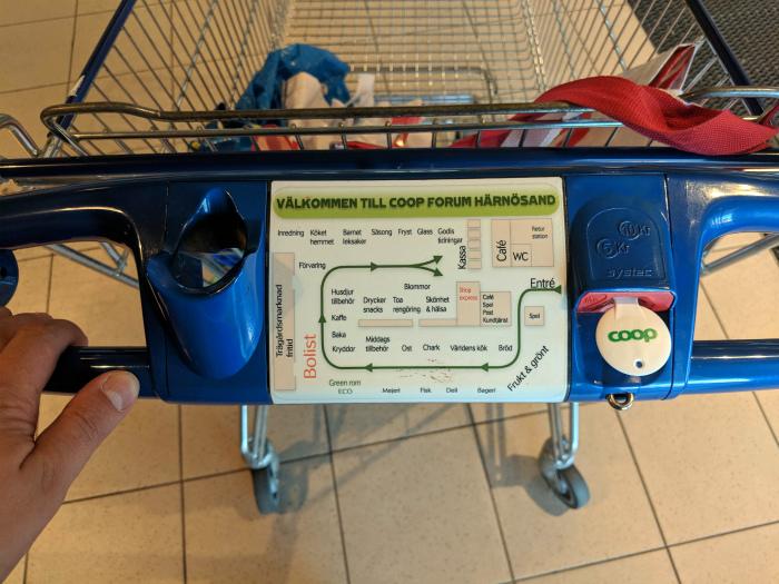 Особенности шведского шопинга. | Фото: Reddit.