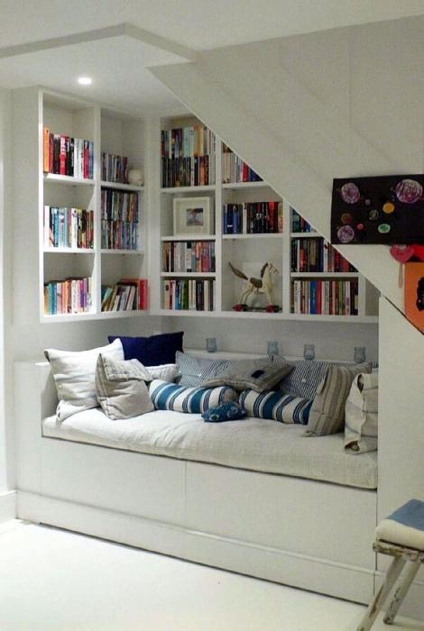 Маленький читальный зал.   Фото: Terra.