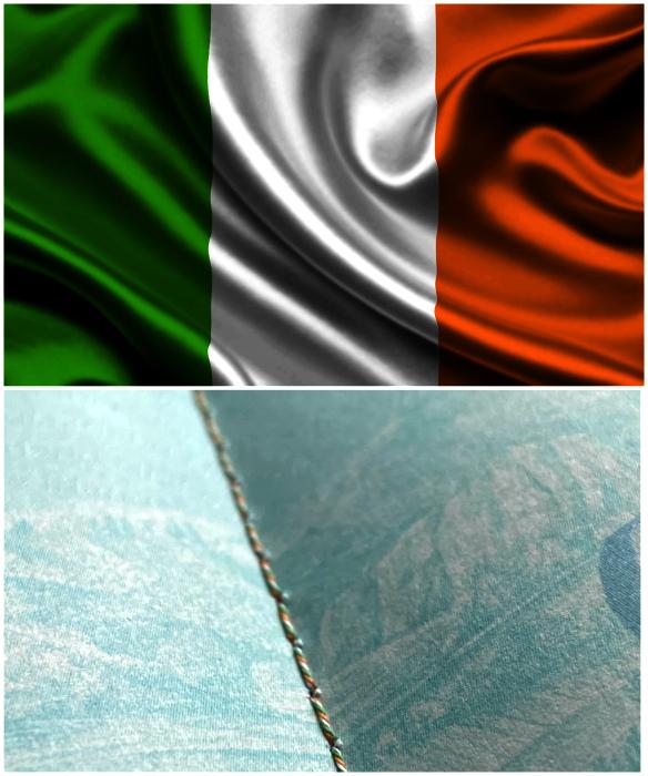 Паспорт гражданина Ирландии. | Фото: Reddit, flagexpert.ru.