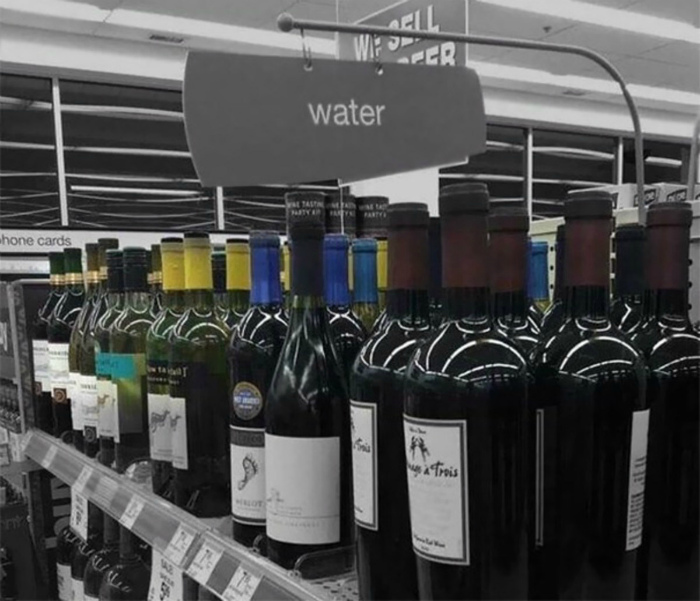 Вода, вино – какая разница? | Фото: cellcode.us.