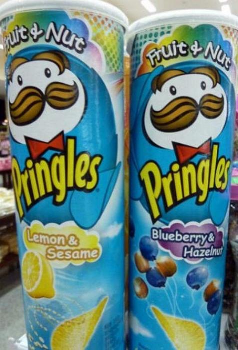 Необычные вкусы Pringles. | Фото: 24Warez.Ru.