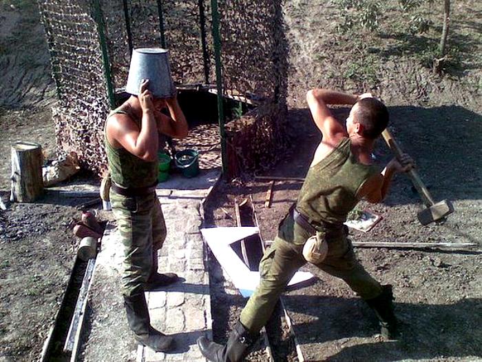 Боевые товарищи.