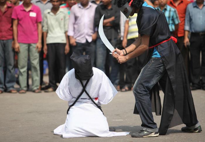 Охота на колдунов в Саудовской Аравии.