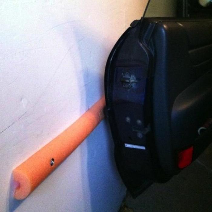 Сделаем мягкими станки узкого гаража.
