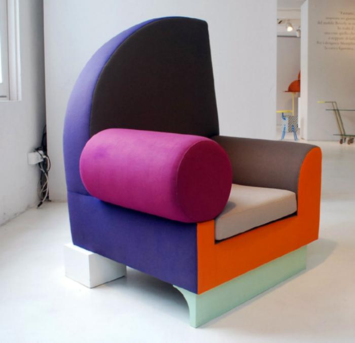 Кресло от Этторе Соттсасс.