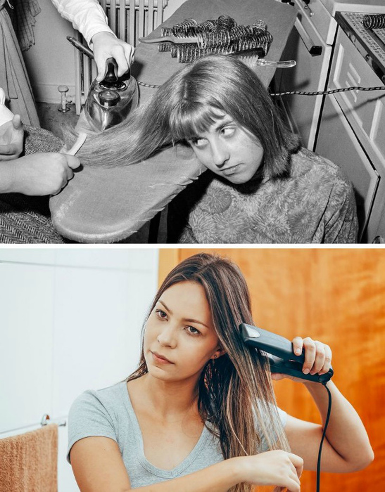 Устройства для выпрямления волос. | Фото: Wolipop.