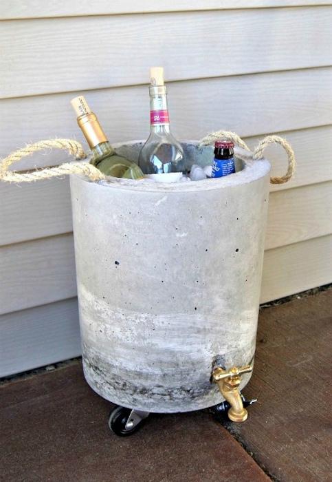 Декоративный контейнер для льда.