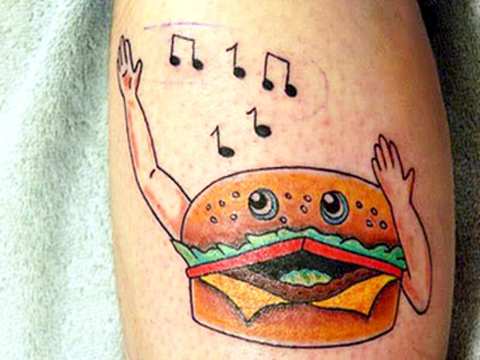 Ну кому не понравится поющий гамбургер?