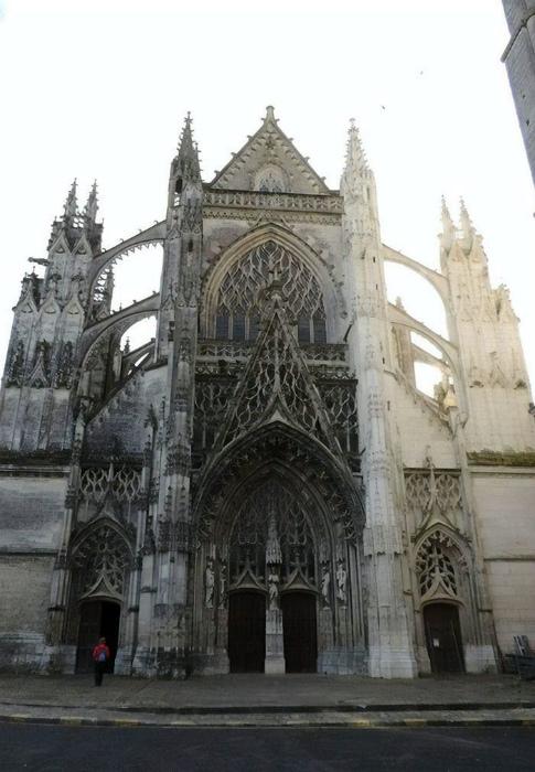 Такой эту церковь мало кто помнит! | Фото: Loupak.cz.