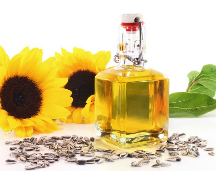 Подсолнечное масло поможет легко отмерить липкие ингредиенты.