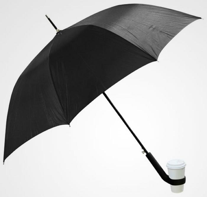 Зонт с подстаканником.