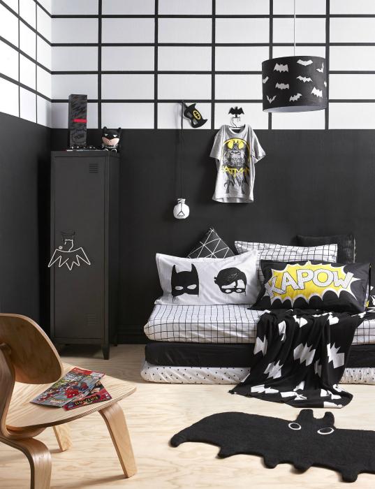 Тематический дизайн спальни для мальчика.
