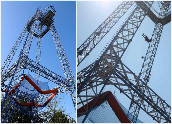Skytower в парке развлечений в Орхусе. | Фото: Flickr, iphones.ru.