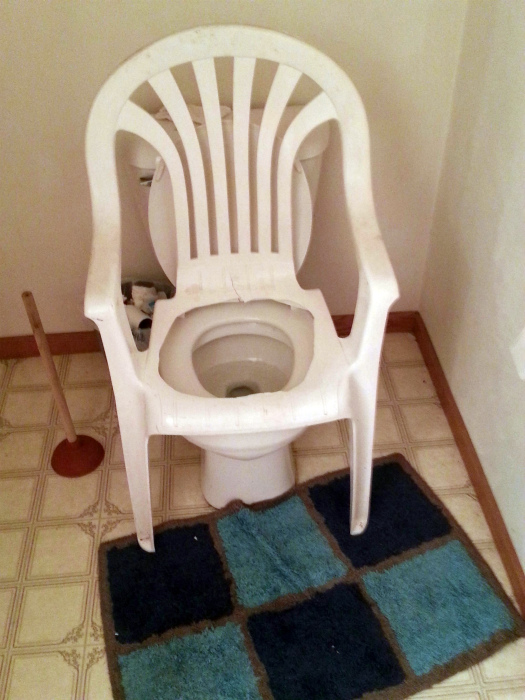 Апгрейд туалета.
