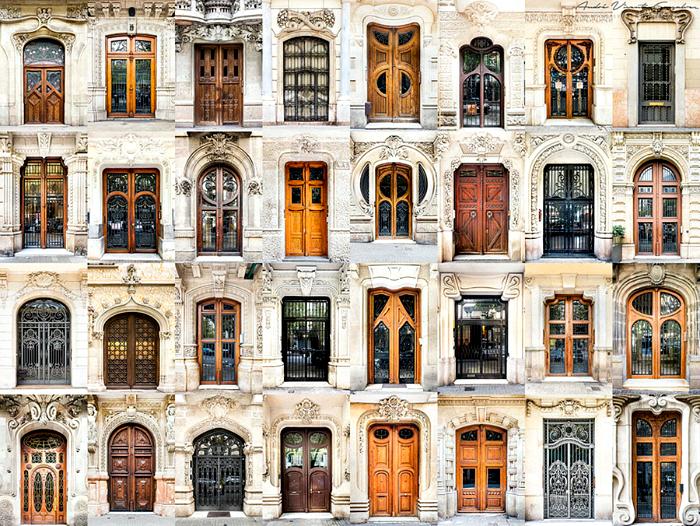 Входные двери Испании