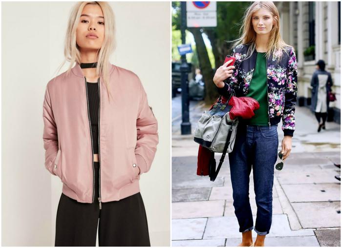 Куртка бомбер. | Фото: Fashion Trends.