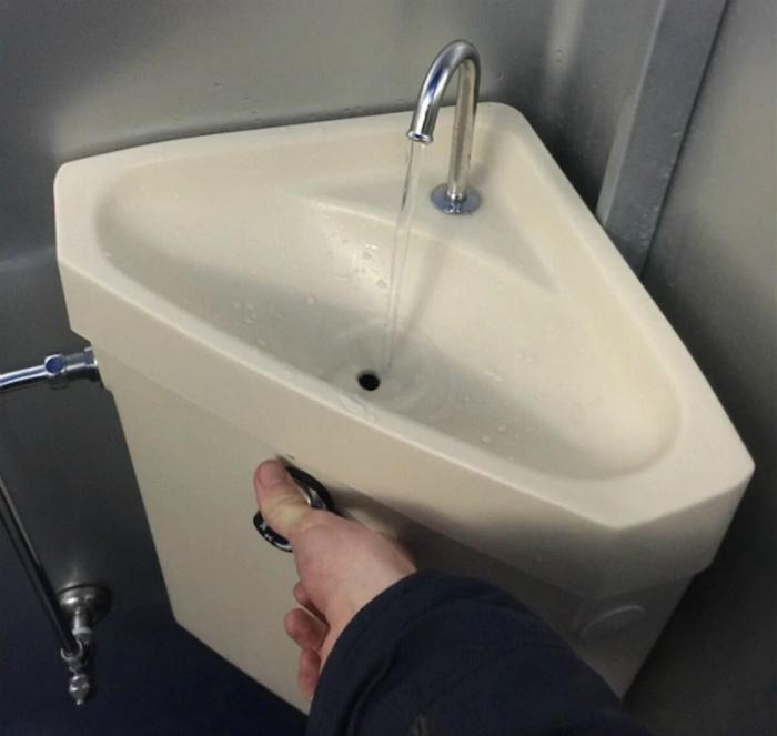 Сантехника для экономии воды. | Фото: Nur.kz.