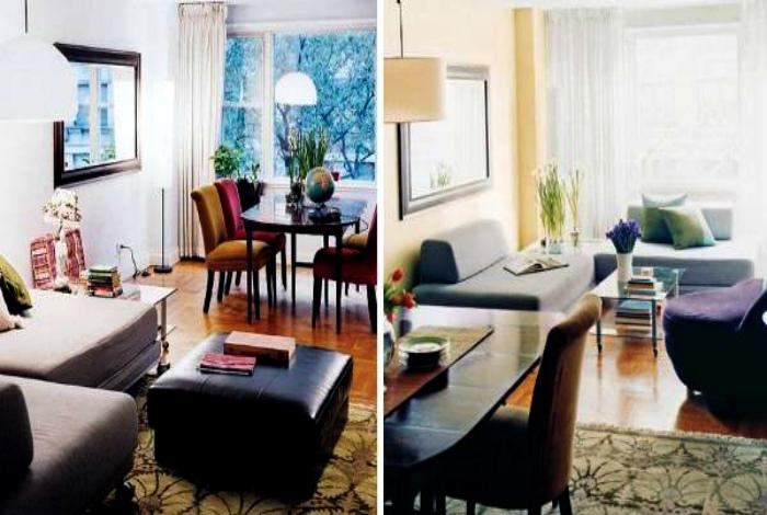 Расставить мебель иначе.