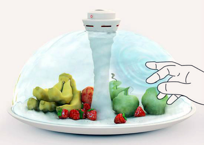 Необычная тарелка для фруктов Water Shade.
