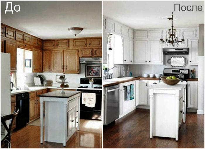 Преображение кухонного пространства.