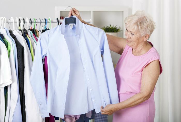 Выглаженные белые рубашки.