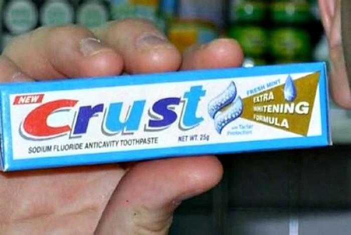 Название зубной пасты.