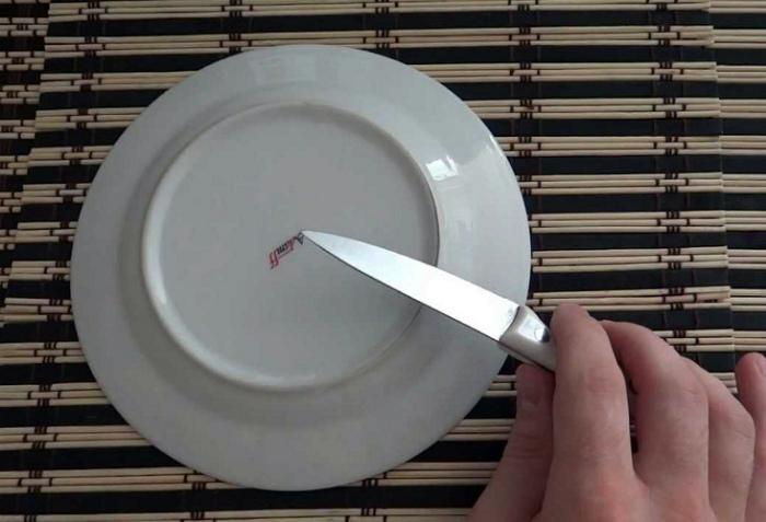 Простой способ заточки ножей. | Фото: heaclub.ru.