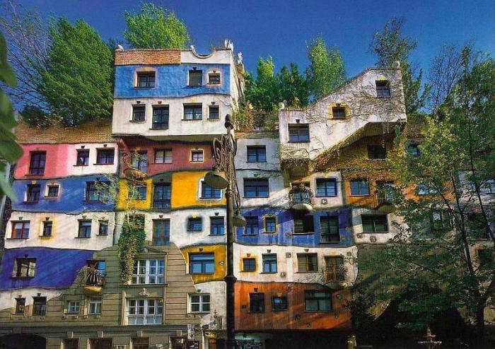 Дом Хундертвассера. Вена, Австрия.