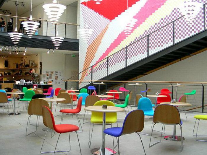 Кафе и ресторанчики открытого типа внутри торговых центров.