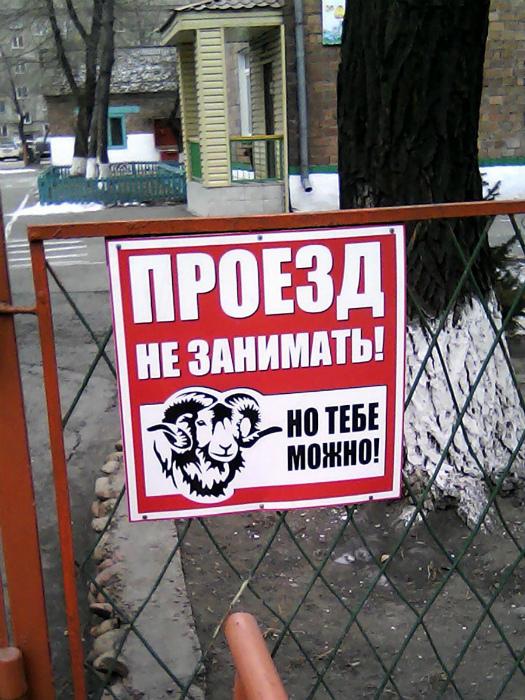 Посмотри на фото, если там ты - паркуйся! | Фото: Тролльно.