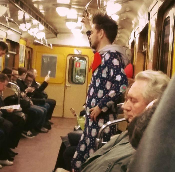 Пижама с совами.