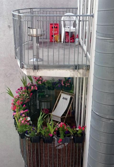 Балконы по половому признаку.