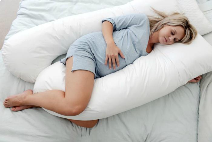 Огромная подушка для беременных.