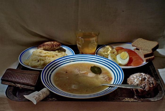 Обед из трех блюд. | Фото: Colors.life.