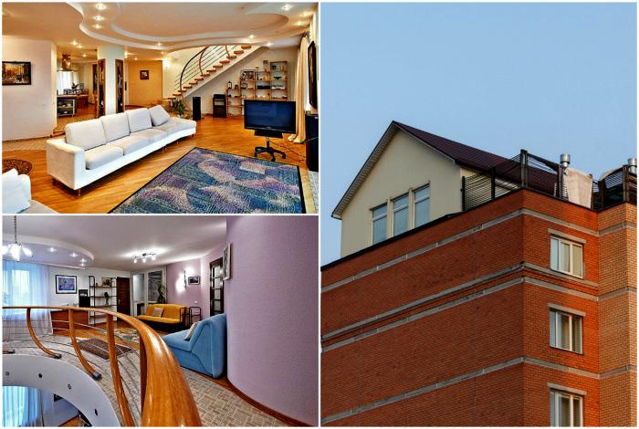 Квартира-коттедж в Минске.