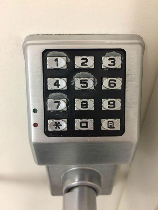 Секретный код двери.