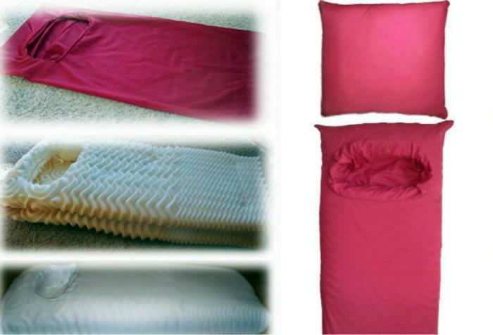 Подушка для любительниц спать на животе.| Фото: rebelcircus.com.