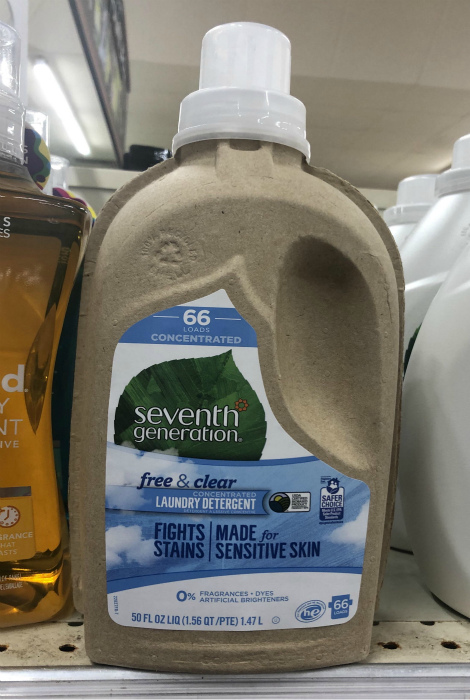 Эко-бутылка из картона. | Фото: Reddit.