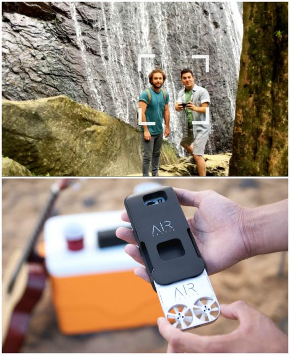 Air Selfie - миниатюрный дрон для селфи.