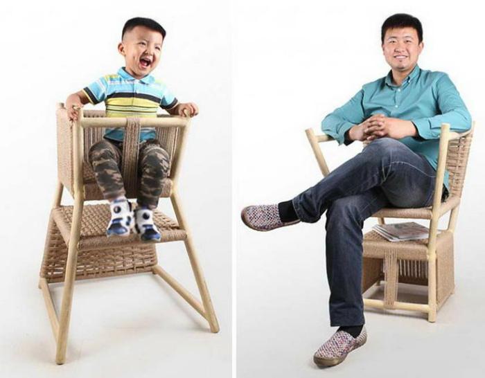 Двойной стул-трансформер.