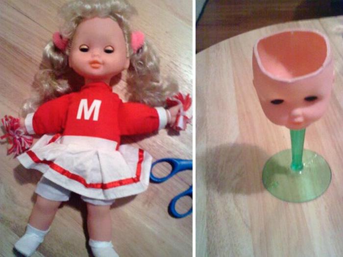 Новая жизнь куклы.