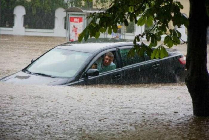 «Небольшой» дождик и его последствия.