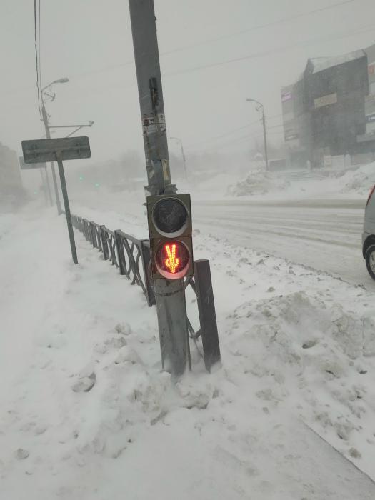 Светофор наоборот. | Фото: Pressa.tv.