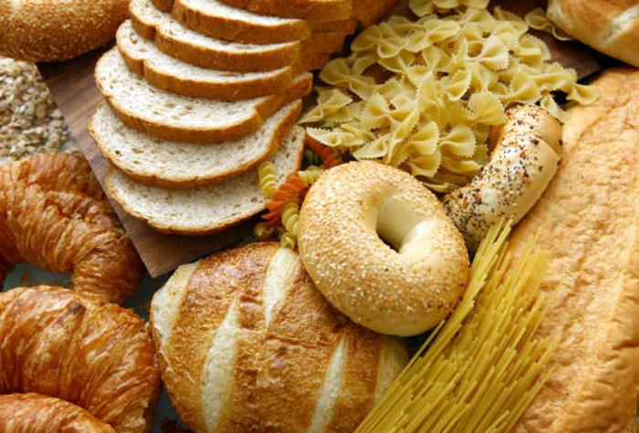 Продукты из пшеницы.