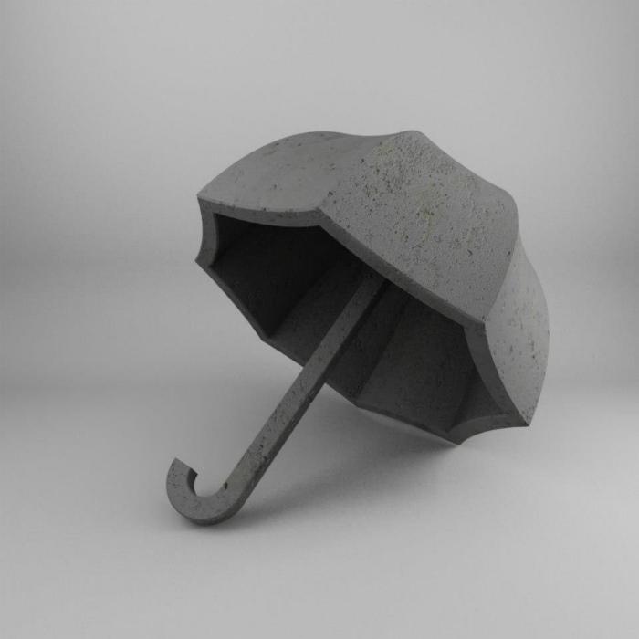 Каменный зонт.