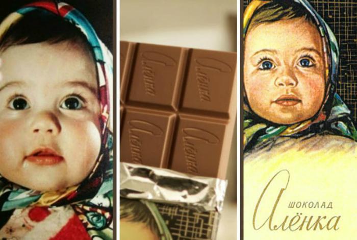 Потрясающе вкусный молочный шоколад «Аленка», выпускаемый в СССР с 1965 года.