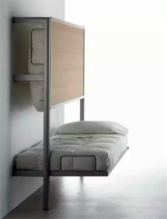 Эргономичная двухъярусная кровать.